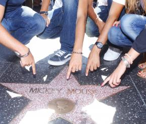 Hollywood walk of fame Campus universitaire